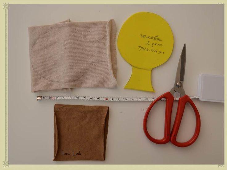Как сшить текстильную куклу с подвижным креплением головы - Ярмарка Мастеров - ручная работа, handmade
