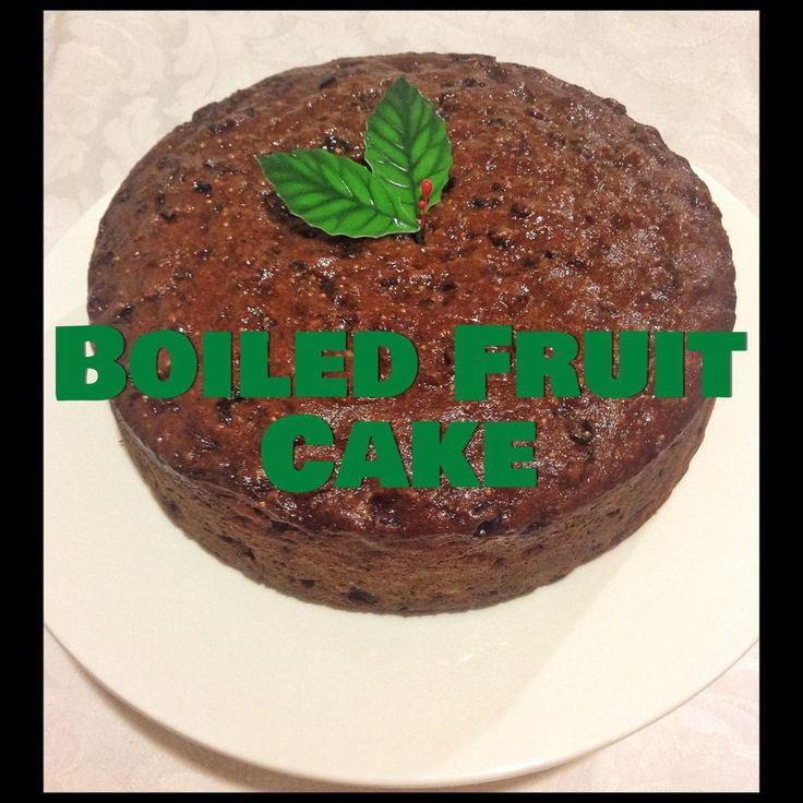 Boiled Fruit Cake (Thermomix Method Included)