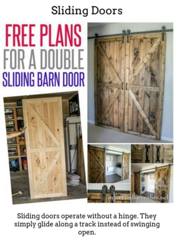 Sliding Doors Produce Eye Catching Vibrant Spaces Via Thermally Insulated Gliding And Foldable Doorways Suite Diy Barn Door Door Plan Woodworking Plans Free