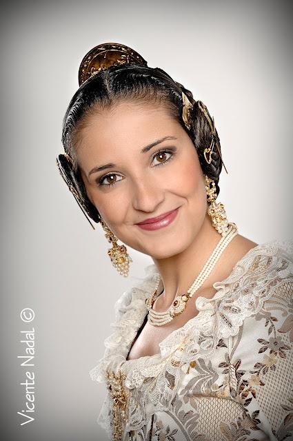 Rosa Vizcaino Fallera Mayor 2012 Falla del Pilar