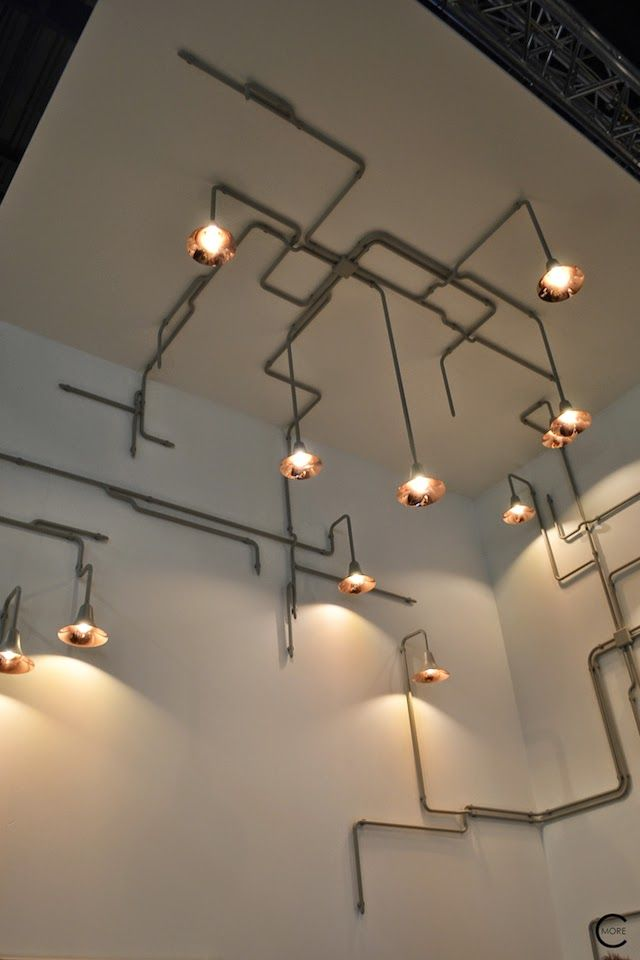 Lighting fixtures by ontwerp duo for tradition spotted by c more interiorblog at imm cologne - Spotlight ontwerp ...