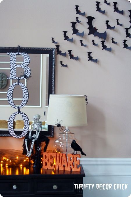 Easy, inexpensive #Halloween decor. It will be here before we know it!