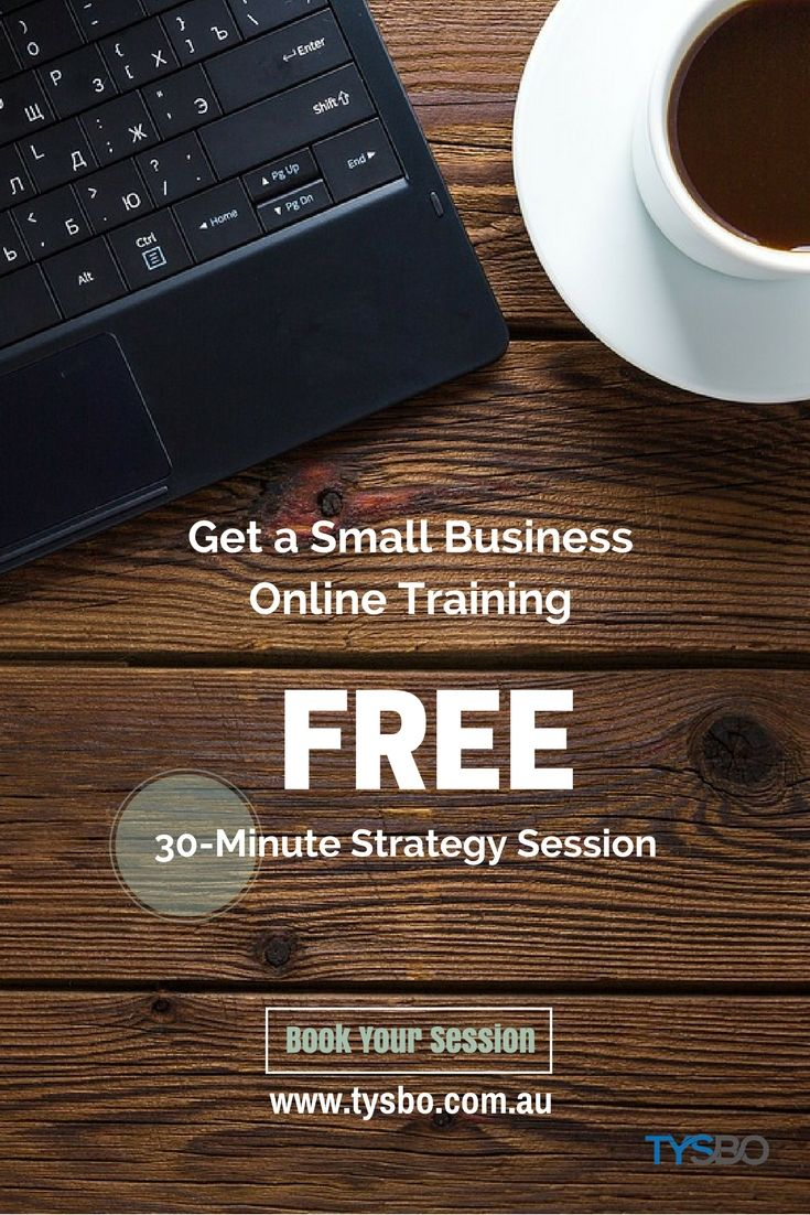 Get a Small Business Online Training. Leary how to start your business on the right foot. Book your FREE 30-Minute Strategy Session today!