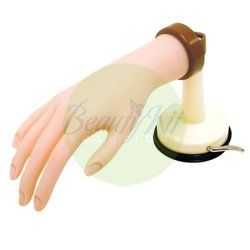 Deluxe Practice Hand w/ Suction Holder hand mannequin [BURBX9161] - $25.95 : ProBeautyKit.com, Cosmetology Kits, Cosmetology State Board Kits, Beauty and Barber Supplies, Salon Equipment or Furniture, Embroidery and Printing, Wholesale and Retail