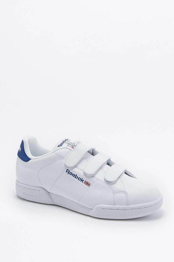 "Reebok – Sneaker ""NPC-II"" in Weiß mit Klettverschlüssen - Urban Outfitters"