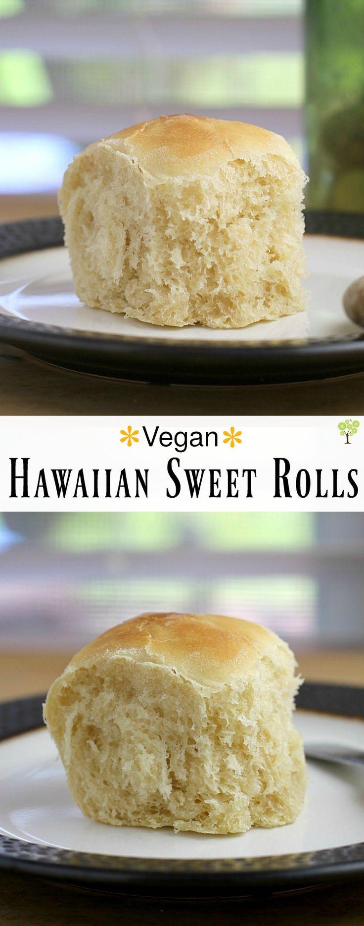 Vegan Hawaiian Sweet Rolls http://wp.me/p4qC4h-3rL