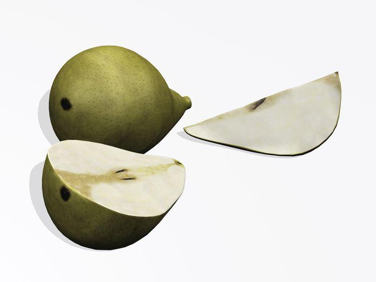 Pears 3D Model Download | fbx max 3ds c4d - 3D Squirrel