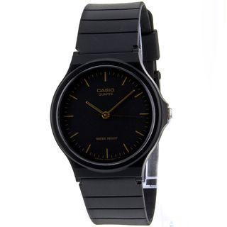 Casio Men's Classic Watch- sleek, chic, and inexpensive