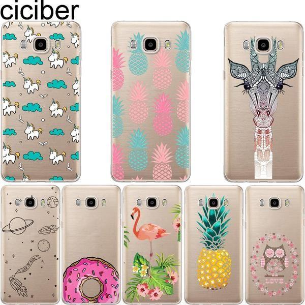 #DealOfTheDay #BestPrice ciciber pineapple Unicorn Owl Giraffe soft case cover For samsung Galaxy S5 S6 S7 edge A3 A5 J5 J7 A310 A510 J510…