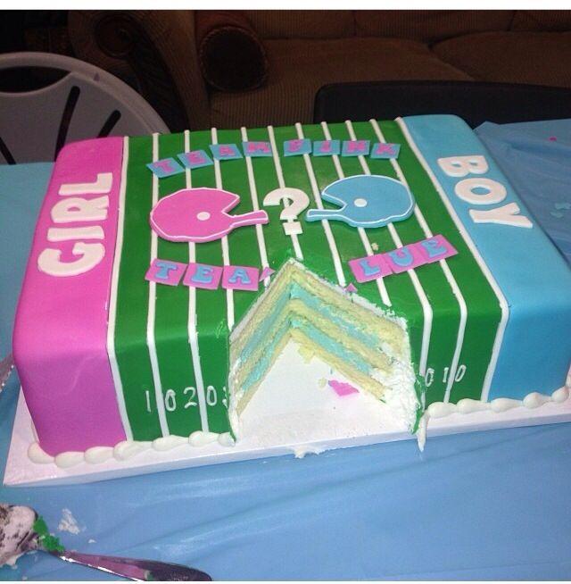 gender reveal cake ideas - Google Search