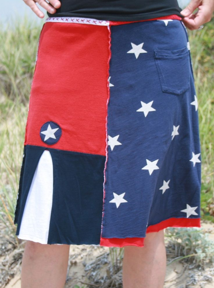 Stars and Stripes (without the stripes!) (XL)
