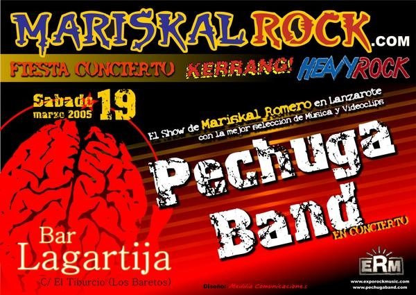 Cartel Pechuga Band 2005