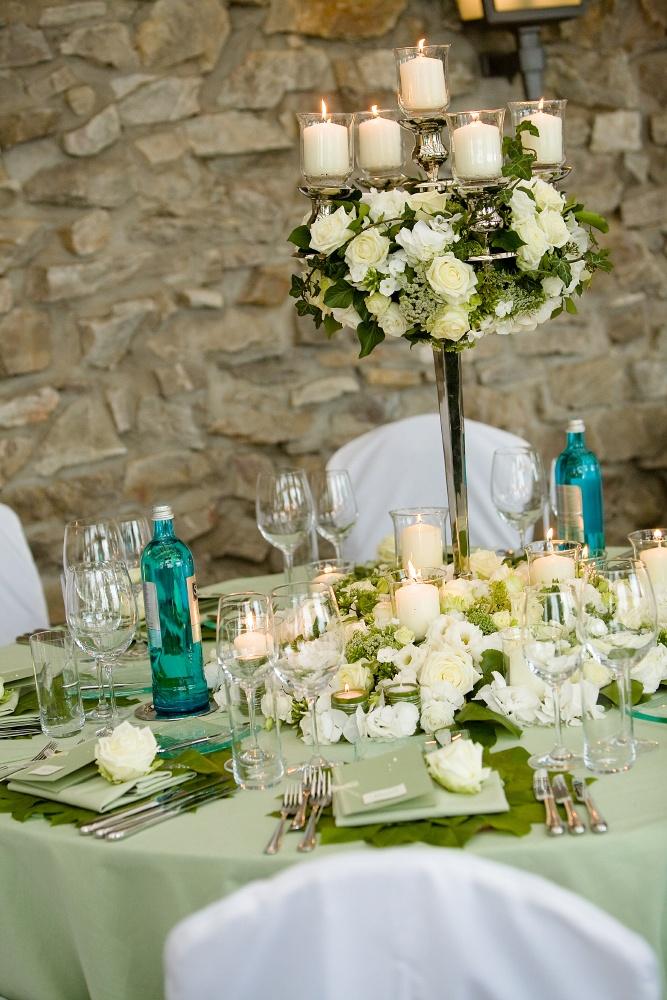 Wedding Cake Marron Et Vert