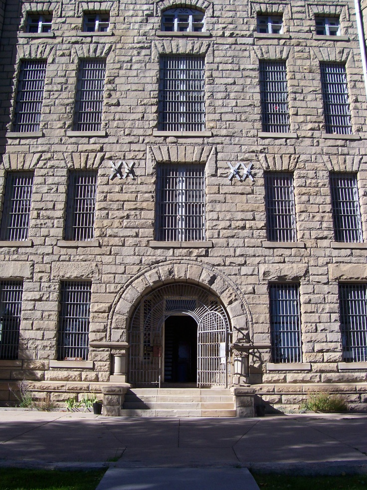 Wyoming State Penitentiary. I lived here, on the grounds, for 12 years. My Dad was the Deputy Warden. How many times have I been through that iron door? Many, many, many. What an incredible childhood.