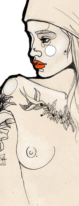 tattoo girl - Sara Ligari