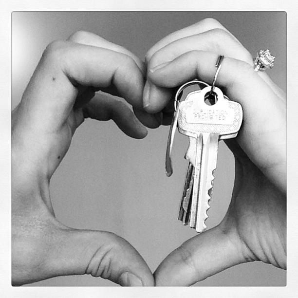 @TopCashback  my first set of keys to our new house