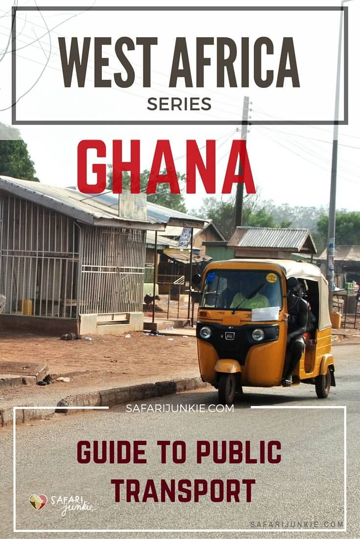 All about how to travel independently by public transport in Ghana