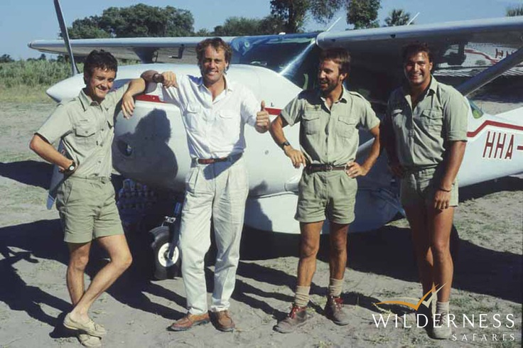 Humble beginnings – Thumbs up from the boys – do you recognise some of these Wilderness folk? Click on the image for the full story.