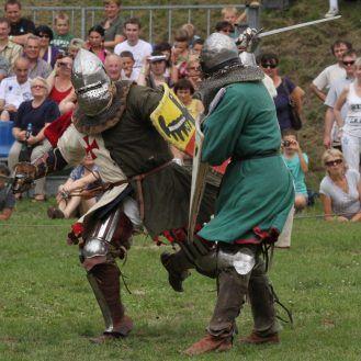 Knight's tournament in Uniejów