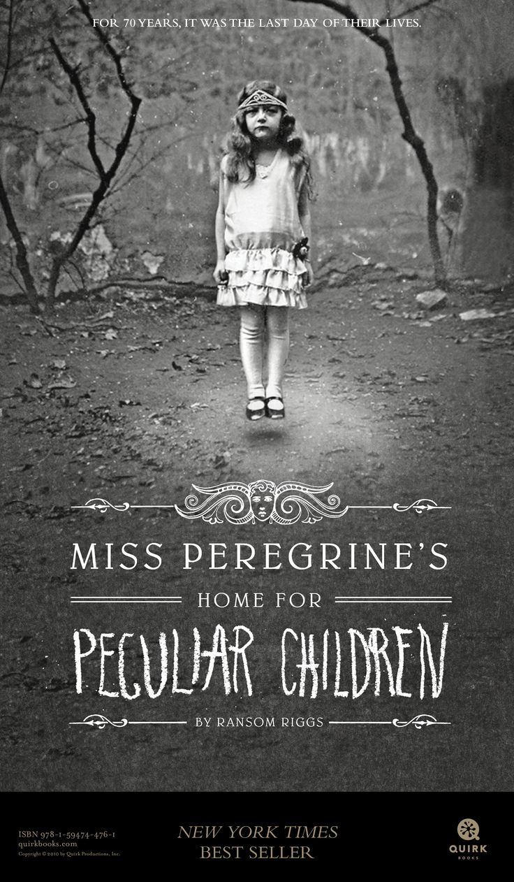 Miss Peregrine's Home for Peculiar Children legal-sized posters #books #education
