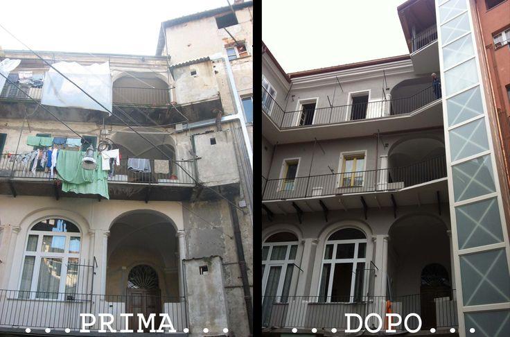 Prima e dopo #ristrutturazione