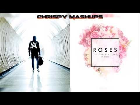 I love these two songs and now a mix up Yeaaaaaaaa!!!    Alan Walker & The Chainsmokers Ft. ROZES - Faded / Roses Mashup