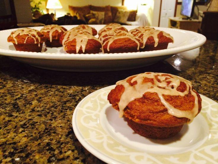 Mini Pumpkin Cakes Farmhouse Rules