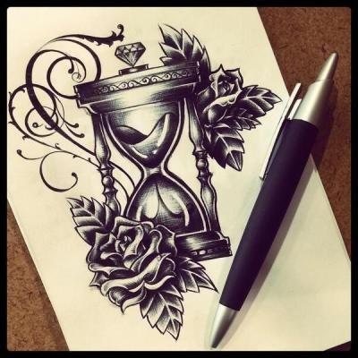 Sanduhr tattoo  92 besten Alles Bilder auf Pinterest | Tatoo, Tattoo-Designs und Uhren