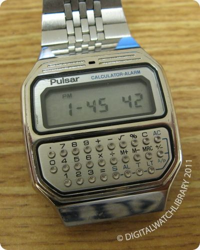 PULSAR - Y739-5019 - Calculator - Vintage Digital Watch - DigitalWatchLibrary.com