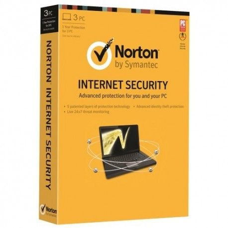 Norton Internet Security 2014 3PC- Download  Condition New  Norton Antivirus 2014 software by Symantec helps you to protect your PC by detecting tracking and removing harmful viruses and spyware.  $29.54