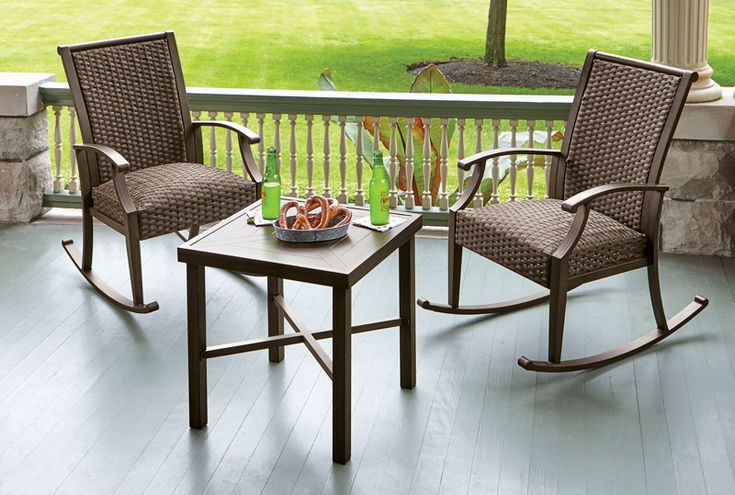 ACE hardware - Living Accents 3 pc. Rockland Patio Set ...