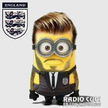 David Beckham's Minion