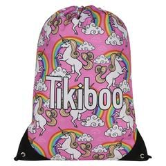 Tikiboo Rainbows & Unicorns Drawstring Bag £14.99 #Activewear #Gymwear #FitnessLeggings #Leggings #Tikiboo #Running #Yoga  #GymBag