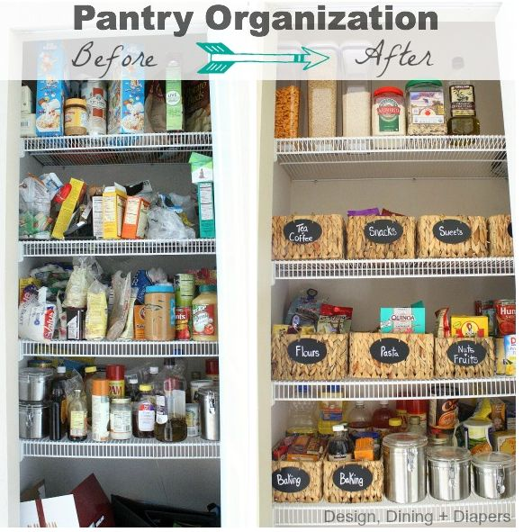 9 Tips For A Perfectly Organized Pantry: 17 Best Images About Rental House On Pinterest