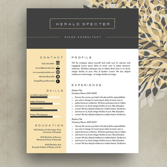 16 best Creative Resume Templates images on Pinterest Creative - free microsoft word resume templates
