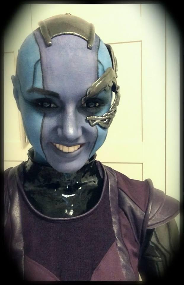 gardians nebula face - photo #35