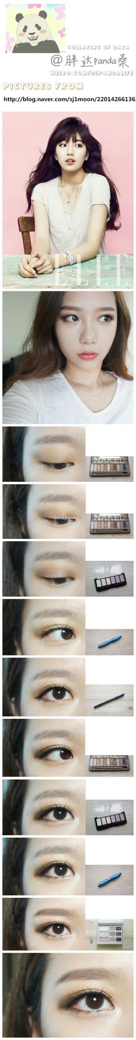 Pretty! Korean make up