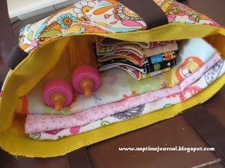 Nap Time Journal Play Diaper Bag Kits Gift Of