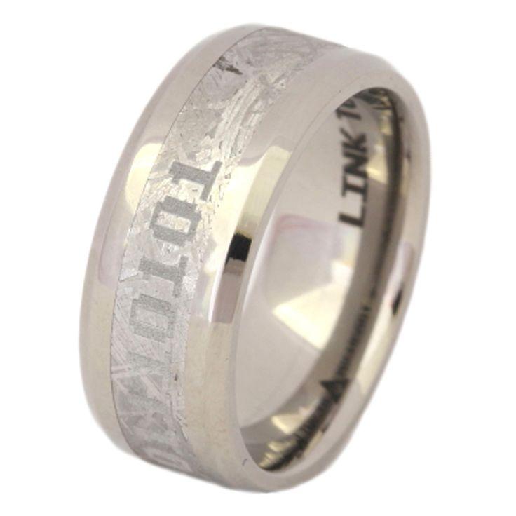 Titanium wedding bands information management
