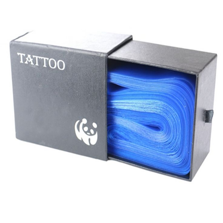 125Pcs Plastic Blue 2015 Tattoo Clip Cord Sleeves Covers Bags Supply  New Hot Professional Tattoo Accessory accessoire de tatoo