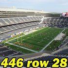 #Ticket  2 OF 4 TIX: Denver Broncos @ Chicago Bears NFL PRESEASON 8/11 446row28 E-TICKETS #deals_us