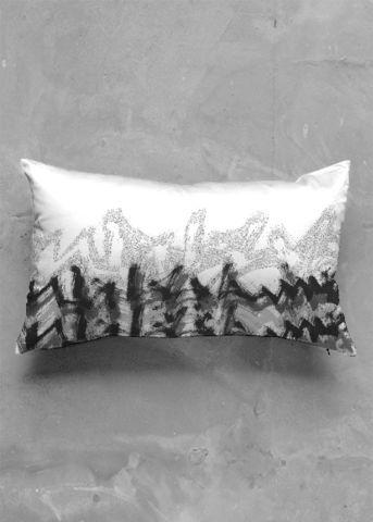 graffiti style accent pillow by marikakk