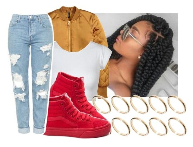 """"""""""" by eazybreezy305 ❤ liked on Polyvore featuring ASOS, Vans, Topshop, cute, Trendy and 2016"""