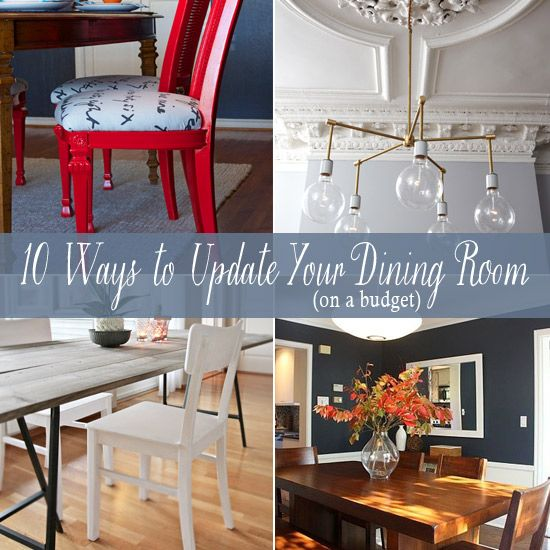 20 Small Dining Room Ideas On A Budget: 10 Budget-Friendly Ideas For Updating Your Dining Room