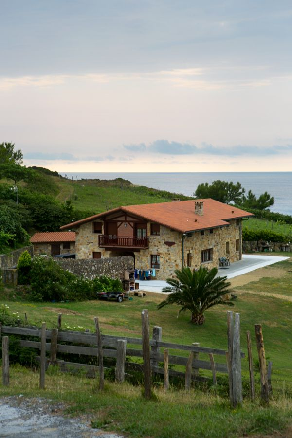 Caserio, typical house at the Basque Country