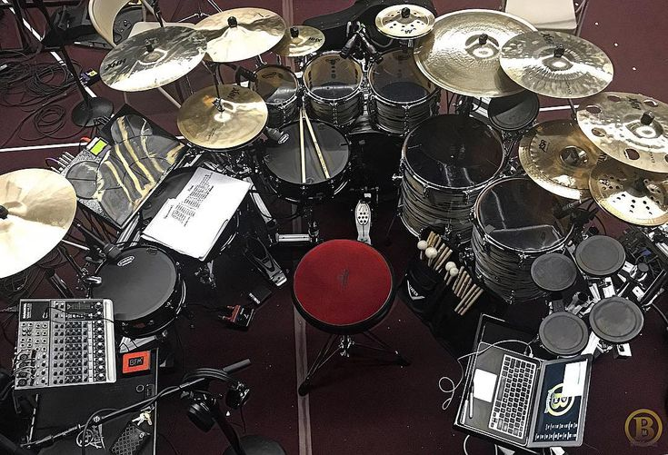 """1,131 Likes, 23 Comments - Brian Frasier-Moore (@bfm22) on Instagram: """"In the midst of building my new kit... we still rehearsin! @okwaandrewsolutions @pearl_drums…"""""""