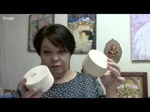 10 й день конференции «Весенние декупажные встречи» Людмила Михайловская - YouTube