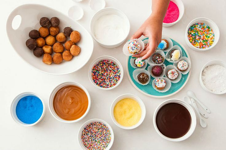diy donut bar! sounds delicious to us!