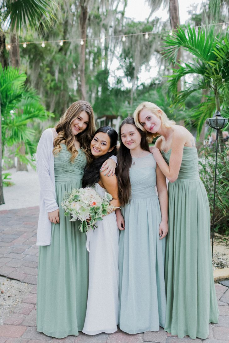 40 best green bridesmaid dresses images on pinterest clothes green bridesmaid dresses in varied shades ombrellifo Choice Image