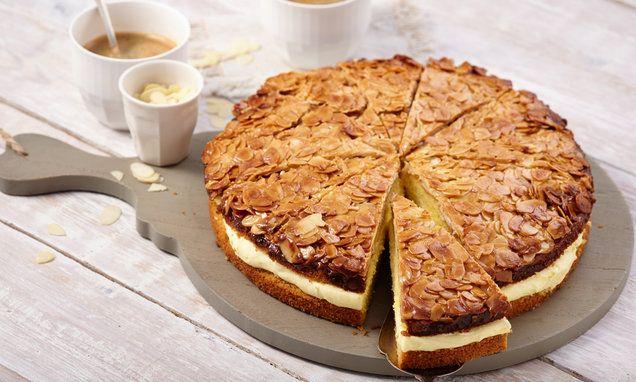 Torte Nach Bienenstich Art O 26 Cm Rezept Schneller Kuchen Bienenstich Rezept Bienenstich Kuchen